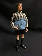 VINTAGE ACTION MAN - NEWCASTLE UNITED FOOTBALLER - ORIGINAL PALITOY