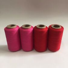 CHOKE CHERRY #918 SPUN POLYESTER SERGER /& QUILTING THREAD 4 TUBES 1000 YDS EACH