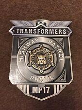 Obra Maestra Transformers Takara HASBRO moneda de coleccionista acecho MP17