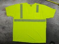 Game Workwear HydroWick Safety High Viz Pocket T-Shirt 3XL Safety Apparel