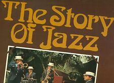 L'HISTOIRE OF JAZZ DUKE ELLINGTON COUNT BASIE STAN GETZ DAVIS MINGUS Do-LP L8143