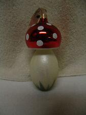 FRUITS VEGETABLE CHRISTMAS TREE ORNAMENT LARGE  MUSHROOM