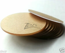 """100 1-1/2""""x1/32"""" THIN Acrylic Circles Craft Disc Clear Plastic Shapes USA MADE"""