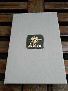 Alden Horween Shell Cordovan 6 Key Case in Black Color. New in Box