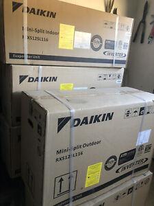 daikin mini split inverter 12000 BTU 18 Seer