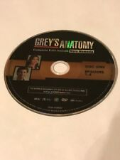 GREY'S ANATOMY FIFTH SEASON 5 DISC 1 REPLACEMENT DVD DISC ONLY