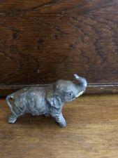 Vintage Pewter Elephant Figurine Germany
