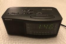 Sony ICF-C740 FM/AM Dual Alarm Clock Radio Black - Used/Tested