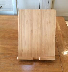 IKEA Holder Mobile Phone / iPad / Tablet Wooden Stand adjustable heights