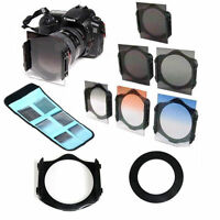 67mm ring Adapter+ND2/ND4/ND8 +Graduated Orange/Blue Filter for Cokin p series