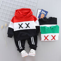 IENENS Kids Boys Clothes Clothing Sets Baby Boy Outfits Hoodies + Jeans Suits