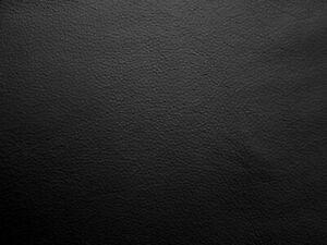 Medium weight cowhide upholstery leather. Black. 1.2mm BARKERS HIDE & SKINS N225