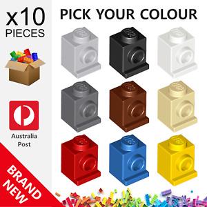 10x Genuine LEGO™ - Modified 1 x 1 with Headlight Bricks - 4070 30069 35388 New