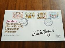 Doctor Who Nicola Bryant signé Folklore FDC