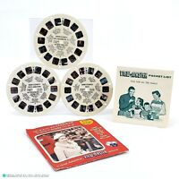 Vintage Queen Elizabeth Visits Canada & USA View-Master Reel Pack B925 - 1950's