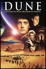 Dune Movie Poster FRIDGE MAGNET 6x8 Magnetic CANVAS Print