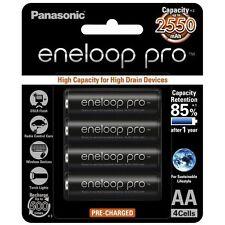 Panasonic eneloop pro 4 x AA High Capacity Rechargeable NiMH Batteries Oz Stock