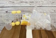 Breast Feeding Supplies Naturebond Silicone Breast Pump With Medela Bottles