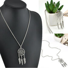 Womens Mens Fashion Retro Dreamcatcher Pendant Chain Necklace Jewelry Gift