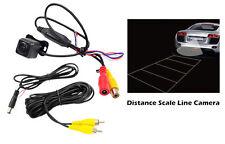 PLCM37FRV Universal Mount Front &Rear Backup Color CMD Camera Distance ScaleLine