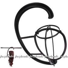 Black Durable Wig Hat Holder Hook Hair Extension Hanger Dryer Display Wig Stand