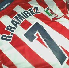 74f6b25d53b Jersey chivas guadalajara Ramon Ramirez JVC vintage L rare mexico JV&C shirt