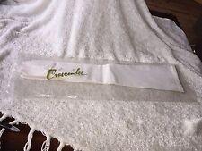 "Vintage Bloomingdale's White 19"" Long Gloves w/ Crescendoe bag West Germany"