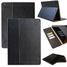 Leder Cover für Apple iPad Mini 4 Schutz Hülle Tasche Tablet Case schwarz