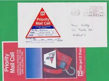 Sehr seltene EF Priority Mail CALL New Zealand 1988 Automatenmarken-EF