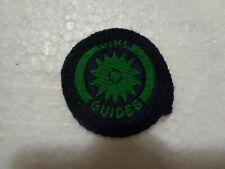 Girl Guide / Girlguiding All Green NATURALIST Guide Interest Badge - vintage