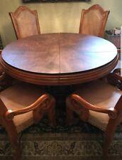AICO  Michael Amini Monte Carlo Dining Room Set, 8 Chairs Table & Pad