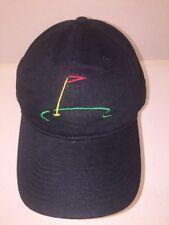 Callaway Golf Black Baseball Hat Cap Backstrap OSFA