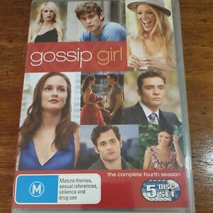 Gossip Girl the Complete Fourth Season 4 DVD R4 Like New! FREE POST