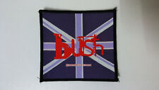 Bush British rock band 1998 logo Rare vintage Sew On patch music