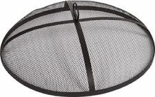 New listing Brand New Shop Chimney Black Mesh Fire Pit Cover with Handle 21 inch In Open Box