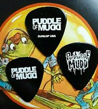 PUDDLE OF MUDD (3) different logo/graphics guitar picks