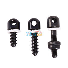 3Pcs QD Sling Swivel Studs Screw Adapter Hunting Set For Most Rifle & Shotgun AM
