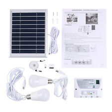 Solar Home Mobile Lighting System Cellphone Home Emergency Lights Power Pack