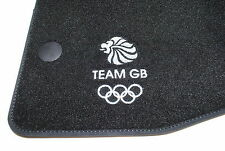 Genuine New NISSAN JUKE Team GB OLYMPIC piano Velour Tappetini - 9999823422