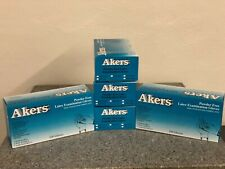 Akers Latex Examination Gloves Powder Free 100 per box
