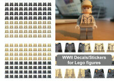 Decals -World War 2 (WW2, WW11, WWII) stickers for lego