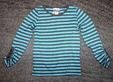 Matilda Jane Girls UPICK Top Layer TEE long ruched sleeve shirt LICHEN Secret Fi