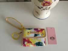 Genuine Juicy Couture Gorgeous Floral Purse Card Wallet -Used Few Times Only