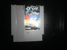 Nintendo NES - ski or die - cart