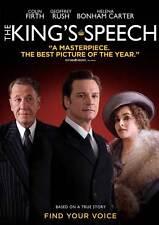 THE KING'S SPEECH Movie POSTER 27x40 D Colin Firth Helena Bonham Carter Derek