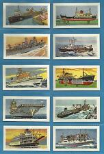 Original cigarette cards - SHIPS AND THEIR WORKINGS - 1961