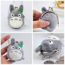 Studio Ghibli My Neighbor Totoro Left Plush Doll Toy Holder Mini Coin Bag Gift