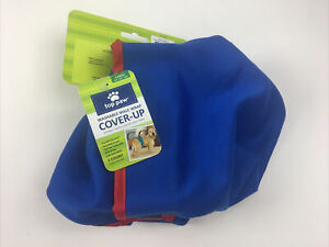Top Paw Washable Male Wrap Coverup Blue Dog Puppy Diaper L 45-90 Lbs NEW