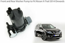 Front & Rear Windscreen Washer Pump To Fit Nissan Xtrail 2014 Onwards