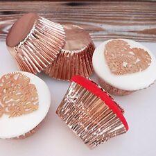 Rose Gold Foil Baking Cases - Pack of 45